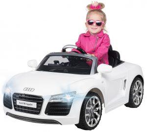 Elektroauto Audi R8 Spyder Lizenziert 2x 35 Watt Motor